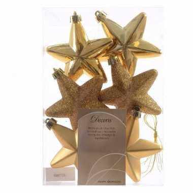 Christmas gold gouden kerstversiering sterren