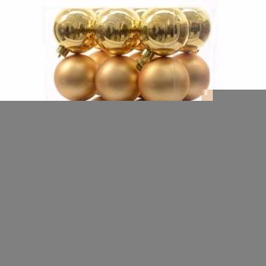 Christmas gold kerstboom decoratie kerstballen goud 30 x