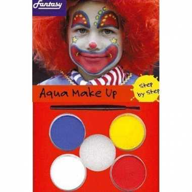 Clown schmink setje