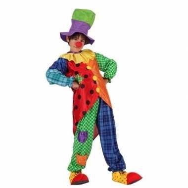 Clown stitches kostuum voor jongens
