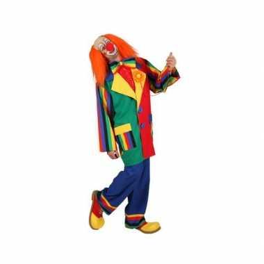 Clown verkleed outfit voor mannen