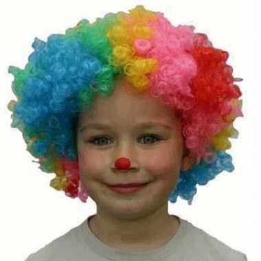 Clowns pruiken kinderen