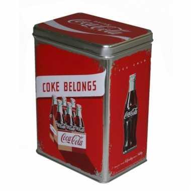 Coca cola bewaarblik 3 liter