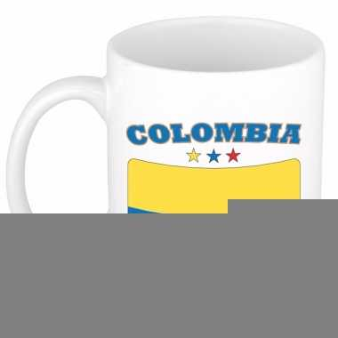 Colombiaanse vlag theebeker 300 ml