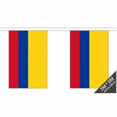 Colombiaiaanse vlaggenlijn 9 meter