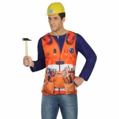 Compleet bouwvakker kostuum voor heren