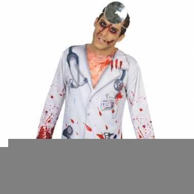 Compleet horror dokter kostuum voor heren
