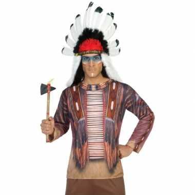Compleet indiaan kostuum voor heren