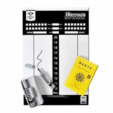Complete darten scorebord set