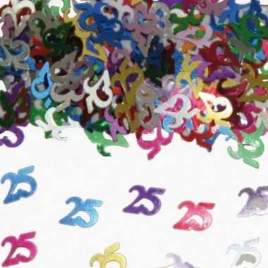 Confetti 25 jaar versiering
