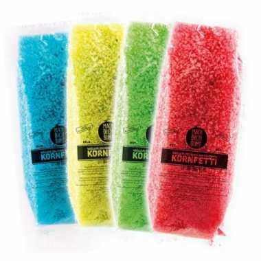 Confetti gekleurd biolosch oplosbaar