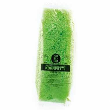 Confetti groen biolosch oplosbaar