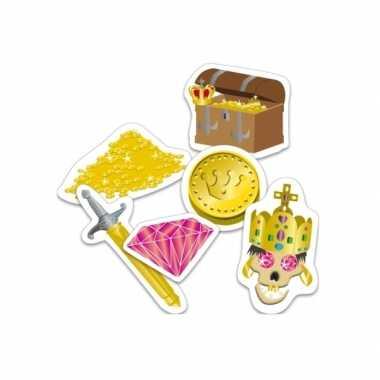 Confetti piratenschatten