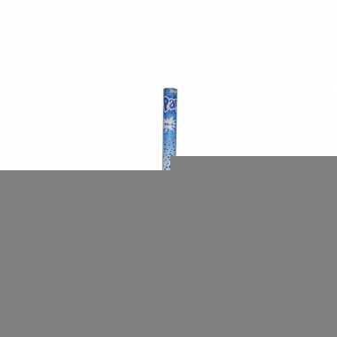 Confetti shooters blauw 60 cm 10x