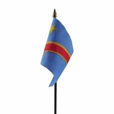 Congo vlaggetje met stokje