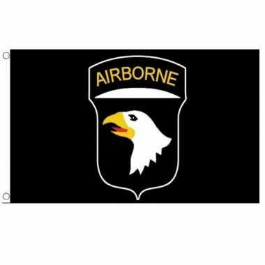 D-day verzamelen 101st airborne division vlag 150 x 90 cm