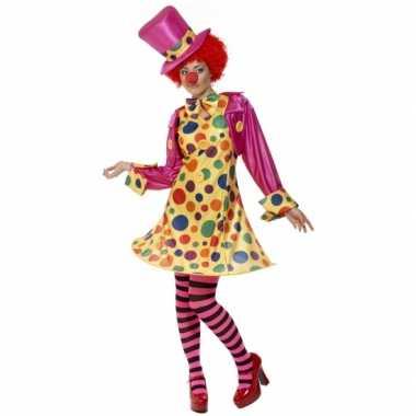 Dames clowns carnavalskleding