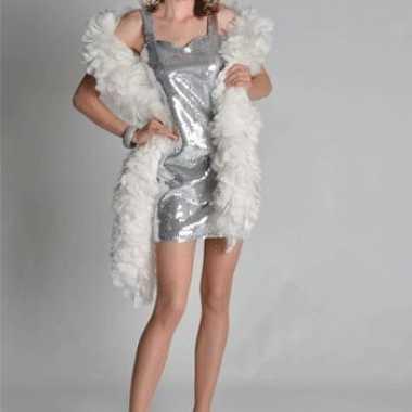 Dames jurkjes zilver