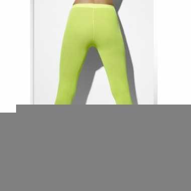 Dames leggings fel groen