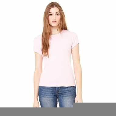 Dames skinny shirts hanna roze