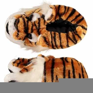 Dames sloffen tijger