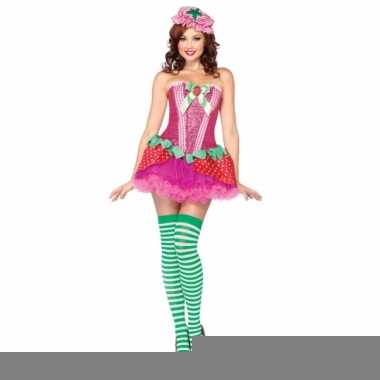 Dames strawberry sweetie costume for women