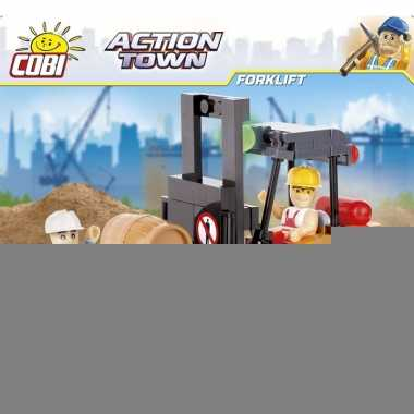 De bouw speelgoed heftuck