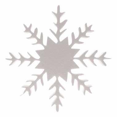 Deco ijskristal winter landschap 30 cm
