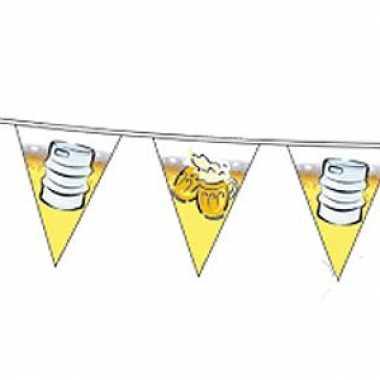 Decoratie bier vlaggenlijn 10 meter
