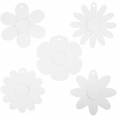Decoratie bruiloft bloemen van karton 100x