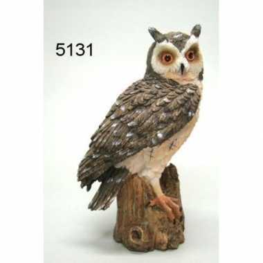 Decoratie dieren beeld oehoe uil vogel 20 cm