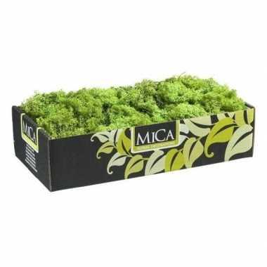 Decoratie/hobby mos groen 500 gram