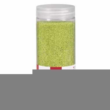 Decoratie materiaal groen zand