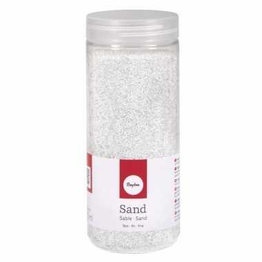 Decoratie materiaal wit zand