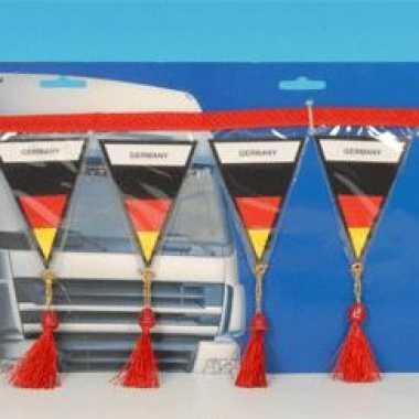 Decoratie mini vlaggenlijn duitsland 60 cm