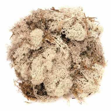 Decoratie mos naturel 50 gram