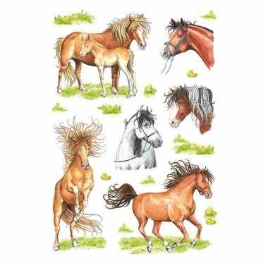 Decoratie paarden stickers