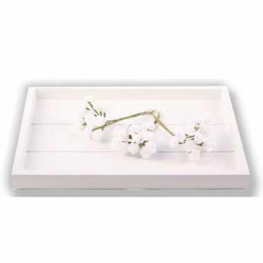 Decoratie rozen wit 12 cm