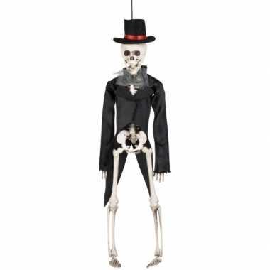Decoratie skelet bruidegom 41 cm