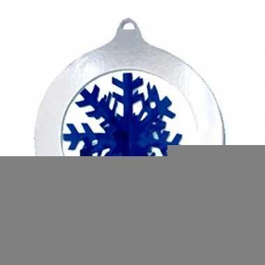 Decoratie sneeuwvlok 37 cm
