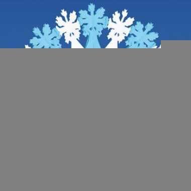 Decoratie sneeuwvlok