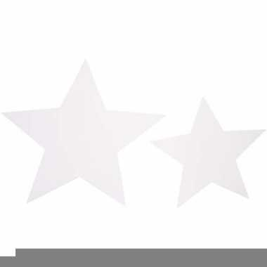 Decoratie sterren van karton 40x