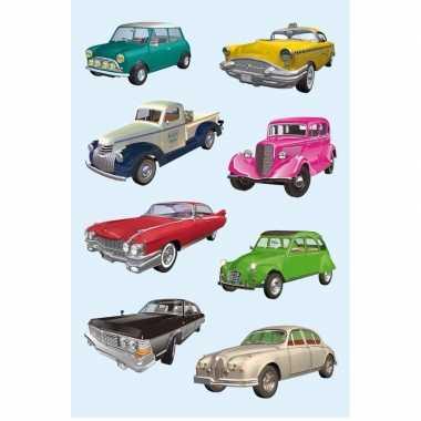 Decoratie verzamel voertuigen stickers