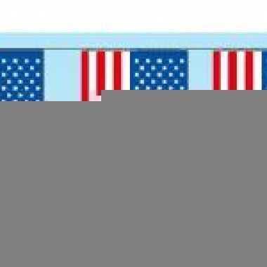 Decoratie vlaggenlijn amerika
