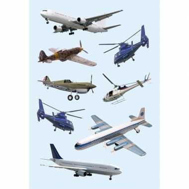 Decoratie vliegtuig etiketten
