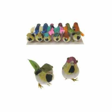 Decoratie vogeltje