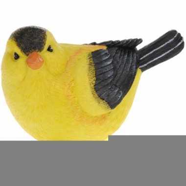 Decoratie wielewaaltjes vogeltjes 17 cm