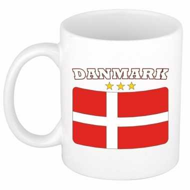 Deense vlag theebeker 300 ml