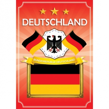 Deurposter bundesrepublik deutschland