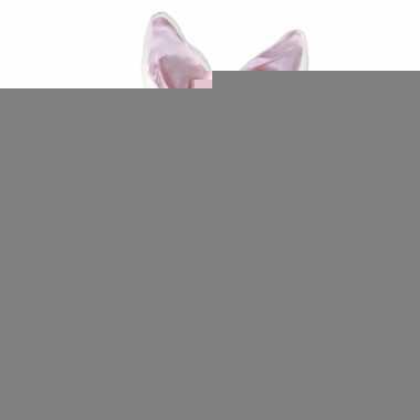 Diadeem wit met roze konijnen oren